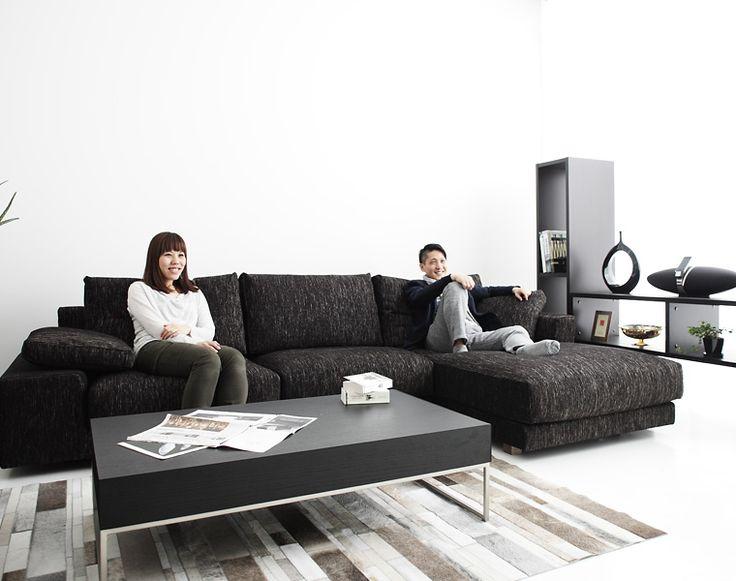 最高級ソファ「NewSugar Maximum Comfort 3人掛けカウチソファセット」:デザイン|ソファ専門店 NOYES