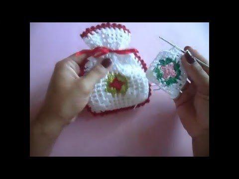 Sachê de crochê de sabonetes Heloísa Helena - YouTube