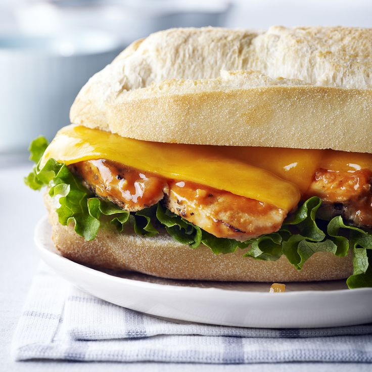 """The """"So Canadian"""" Chicken Sandwich"""