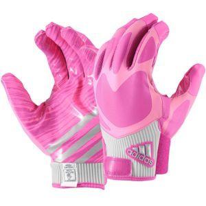 adidas RG3 Football Gloves - Men's - Intense Pink/Pink