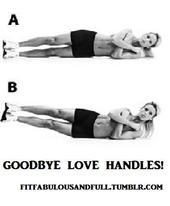 Goodbye love handles!