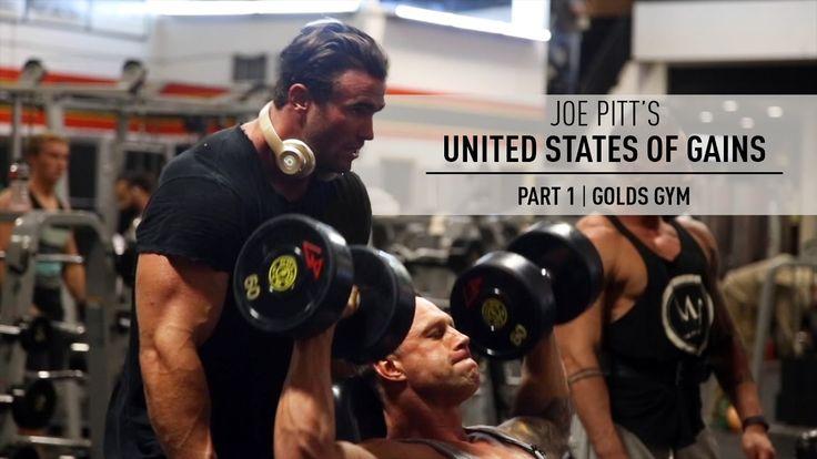 Joe Pitt | United States of Gains | Golds Gym