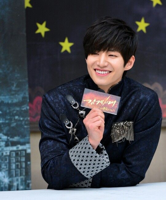 Song Jae Rim at press conference for Inspiring Generation. March 4, 2014