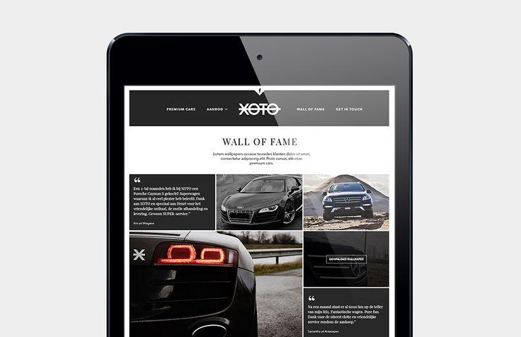 Xoto - Website met beheersysteem | by Skinn Branding Agency