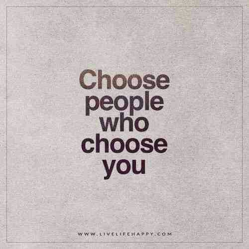 It's all about your choices