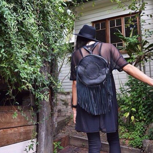 Our Juna backpack in Black