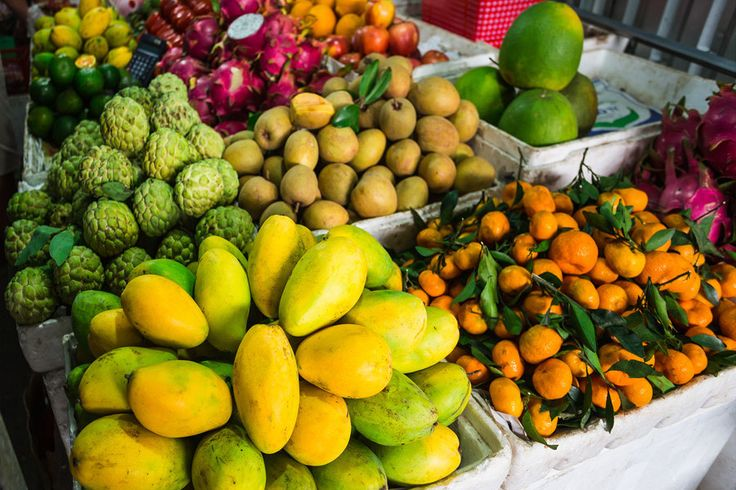 Thais are into fruit in a big way and no wonder with such choices