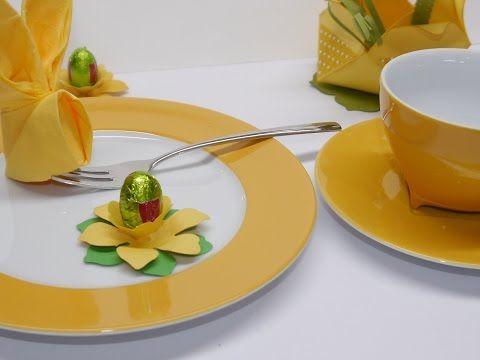 Basteltipp der Woche #9 – Tischdeko Ostern | Basteln mit der Hobbycompany Quickborn und Stampin`Up Produkten