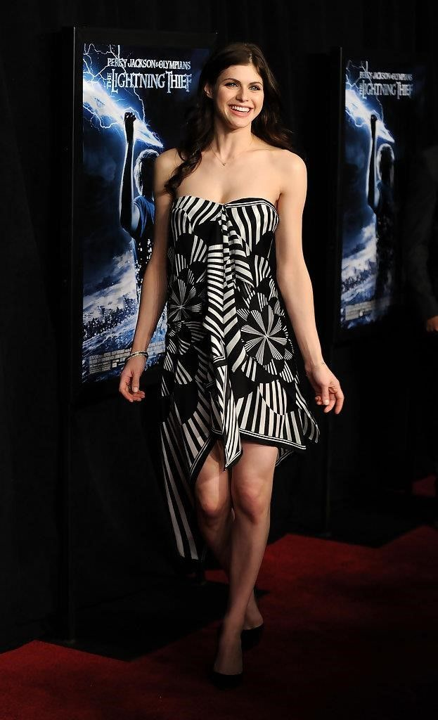 Alexandra Daddario Picture in Percy jackson lightning thief  #hollywoodactress #celebritystyle