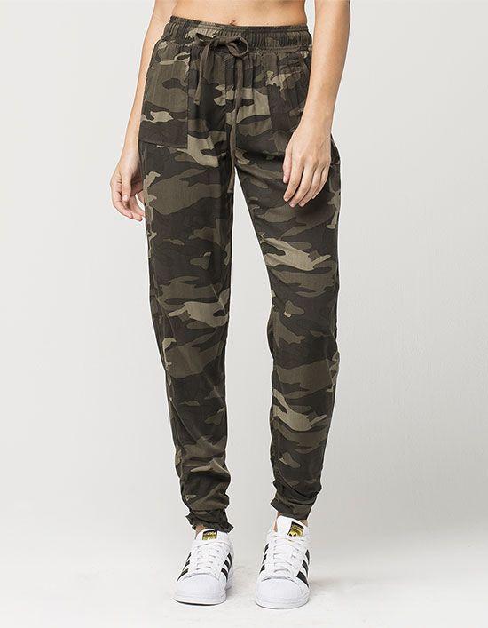 REWASH Camo Womens Rayon Pants 293601946 | Pants & Joggers