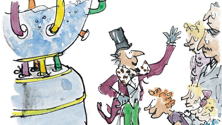 Roald Dahl's Charlie and the Chocolate Factory, illustrated by Quentin Blake