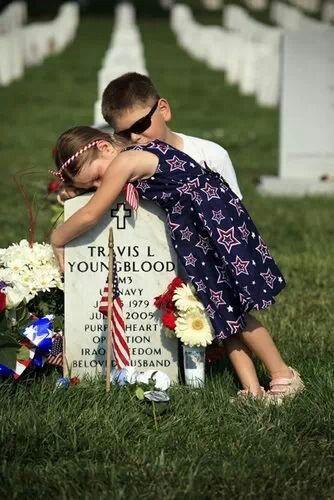 Kids of fallen soldiers are #heroes too!