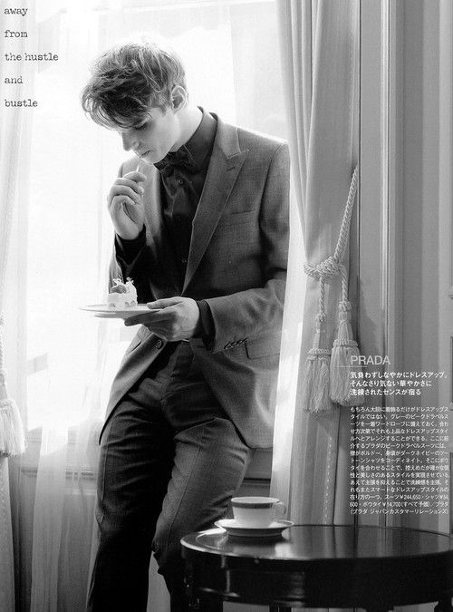 Tim Meiresone Lensed by Yoshihito Sasaguchi for UOMO Magazine January 2012