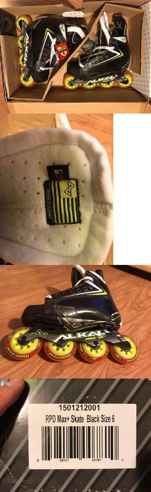 Roller Hockey 64669: *Brand New* Alkali Rpd+ Roller Hockey Skates Size 6 -> BUY IT NOW ONLY: $287.65 on eBay!