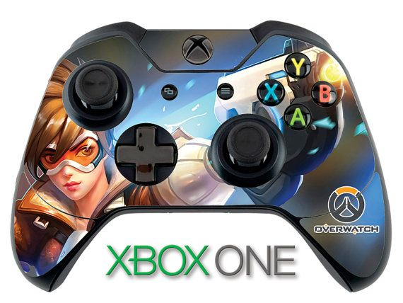 Overwatch Tracer Skin OverwatchSkin Xbox One Controller Skin Sticker Xbox Skin