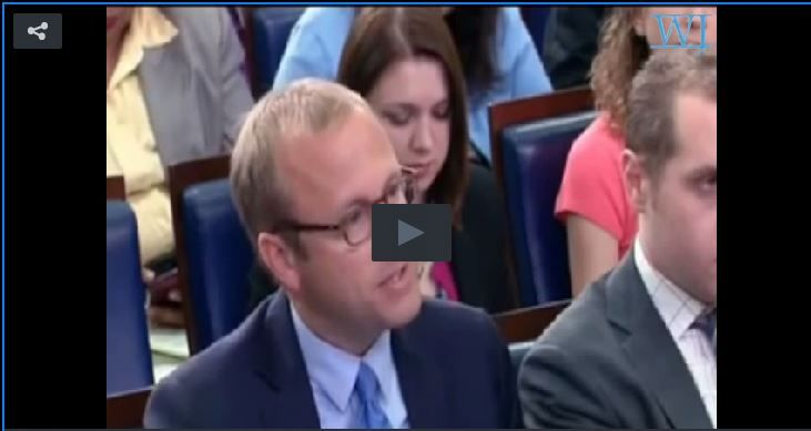 Watch: WH Press Secretary Just Got LIT UP By This Reporter For What He Said About Obama