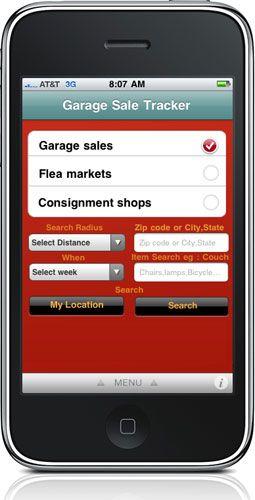Thrifty Decor Chick: Garage sale app neat idea.