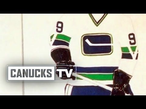 Designing the first Canucks logo
