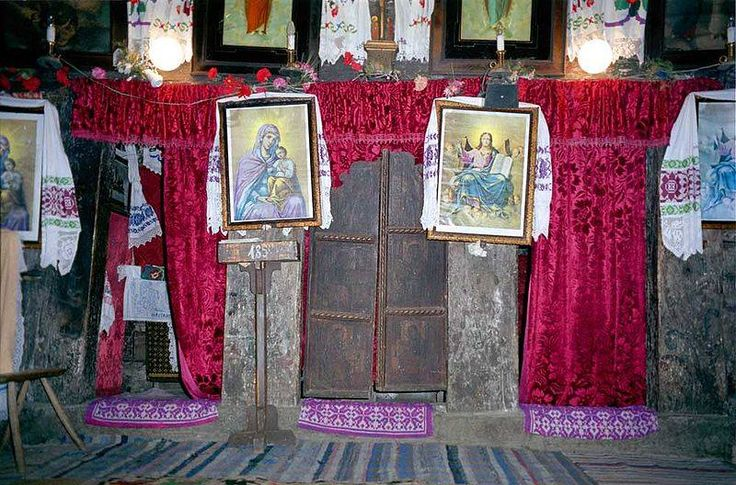 Uşile iconostasului