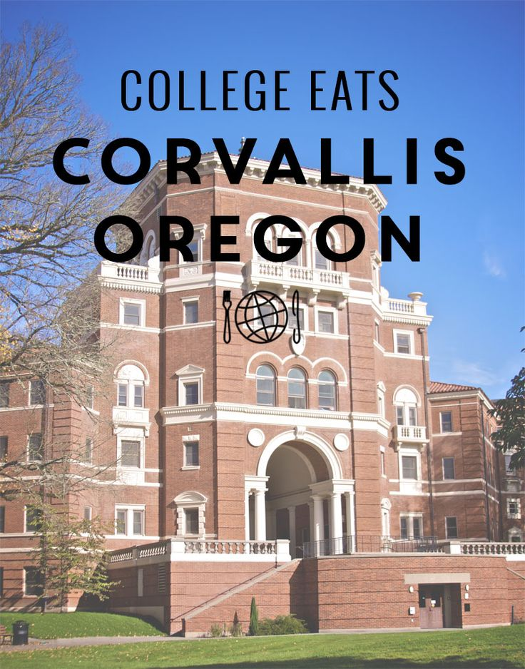 Oregon State University Food Guide from @thecollaboreat