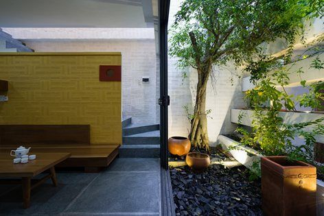 CAN THO House is designed for a young couple family. The family is the blending of two different cultures as the husband was born and raised in Hanoi, North of Vietnam and his wife was born and raised in the Southwest Vietnam. The North is where...