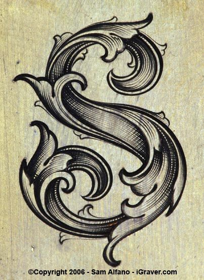 Art Nouveau for reference -would like a monogram tattoo lin this style.