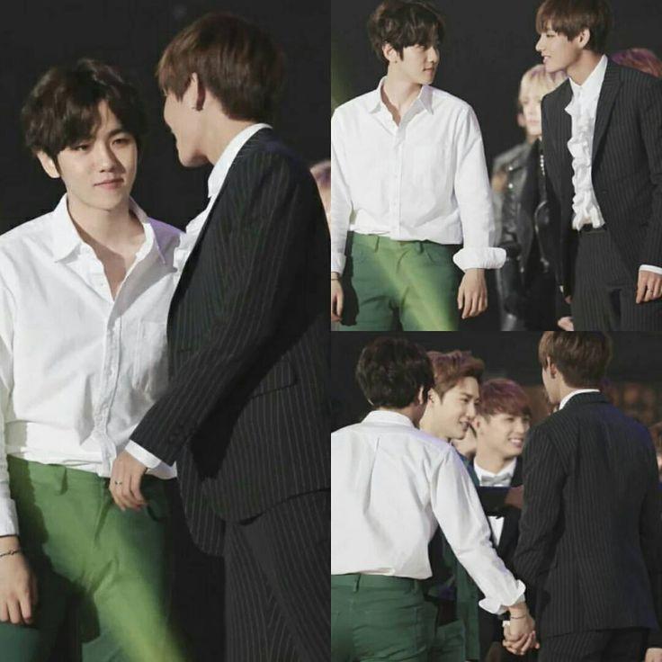 Baekhyun and Taehyung