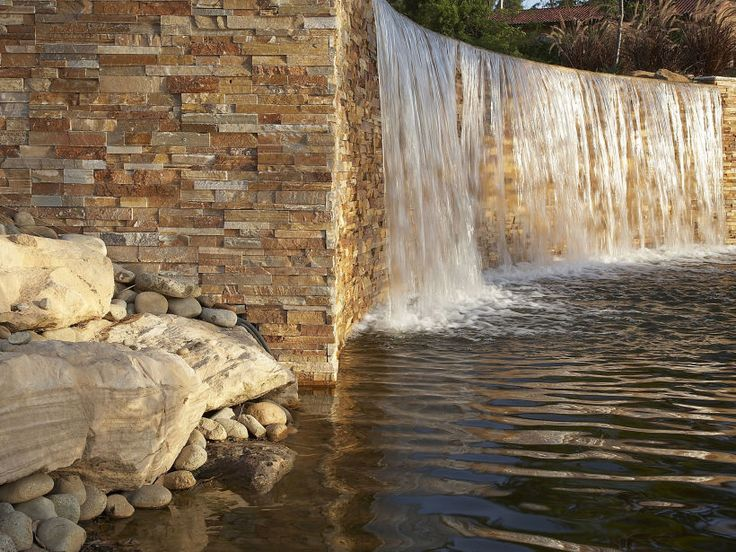 Stonewall Panel Flinders Stone Wall Panel Waterfall
