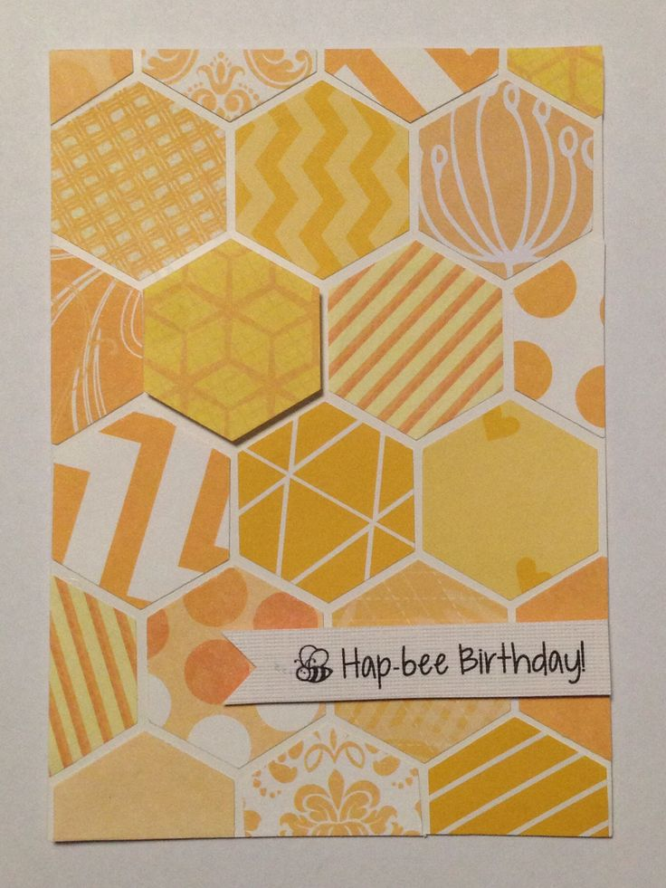 Honeycomb Card