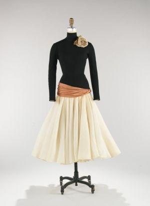 Norman Norell dress ca. 1957 via The Costume Institute of the Metropolitan Museum of Art by terri
