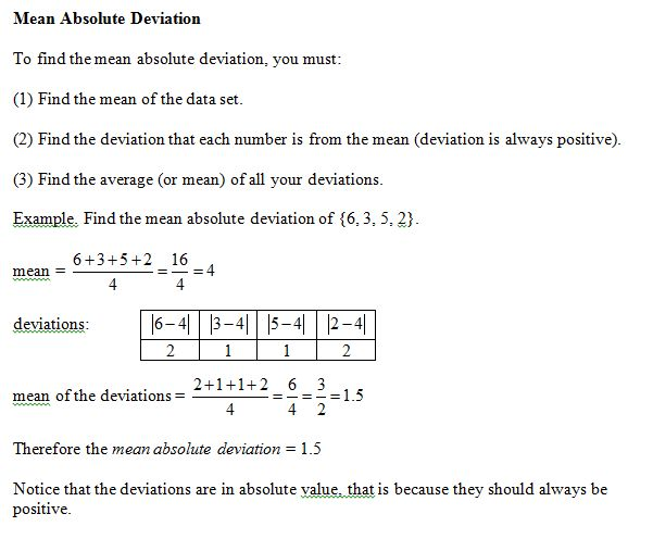 12 best Mean Absolute Deviation images on Pinterest | Statistics ...