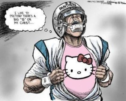 Cam Newton ripped in 'Charlotte Observer' cartoon