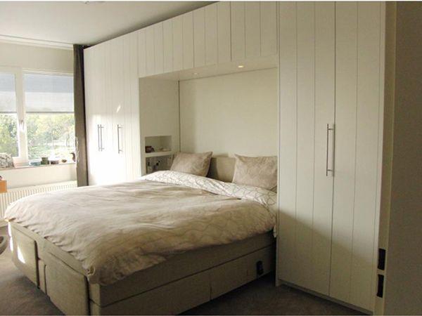 Slaapkamer+meubel+totaal+(mdf+gespoten+zijdeglans)
