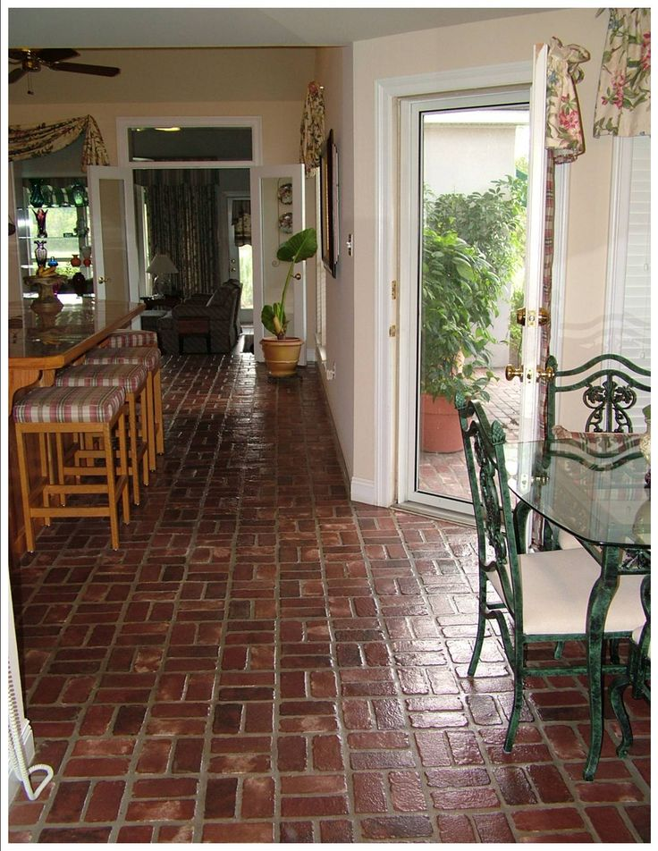Amazing Interior Brick Pavers 6 Interior Brick Floor