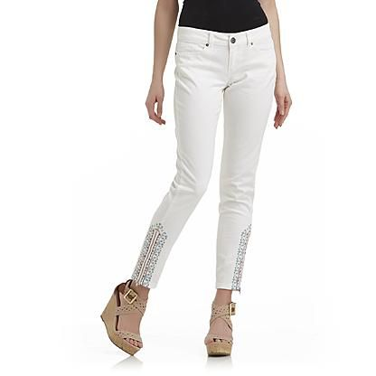 35 best images about Trend We Love: White Jeans on Pinterest ...