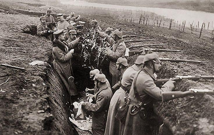 Trincee tedesche - Natale 1914