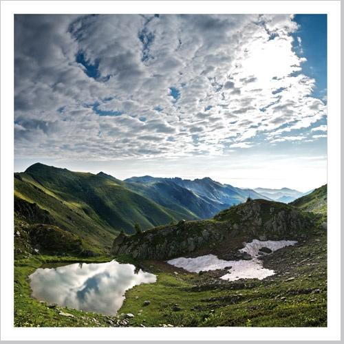 Lago del Pizzo, Pizzo d'Ormea, alta val Tanaro