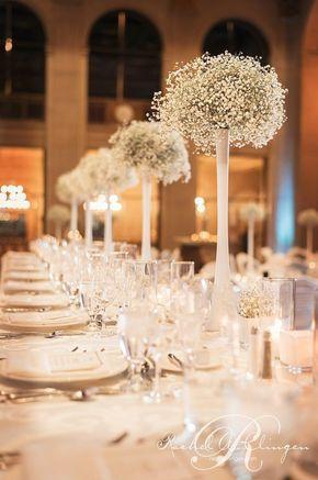 """Wedding Centerpiece 24"""" Clear Glass Eiffel Tower Vase"""