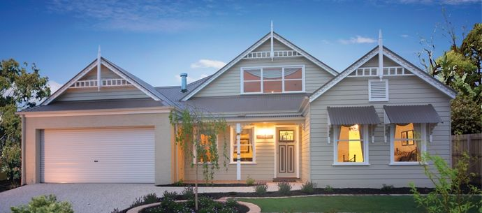 Premier builders group hawthorn attic house designs for Weatherboard house designs
