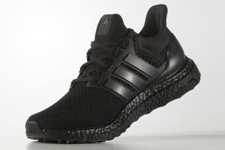 adidas Ultra Boost「Triple Black」官方圖片釋出