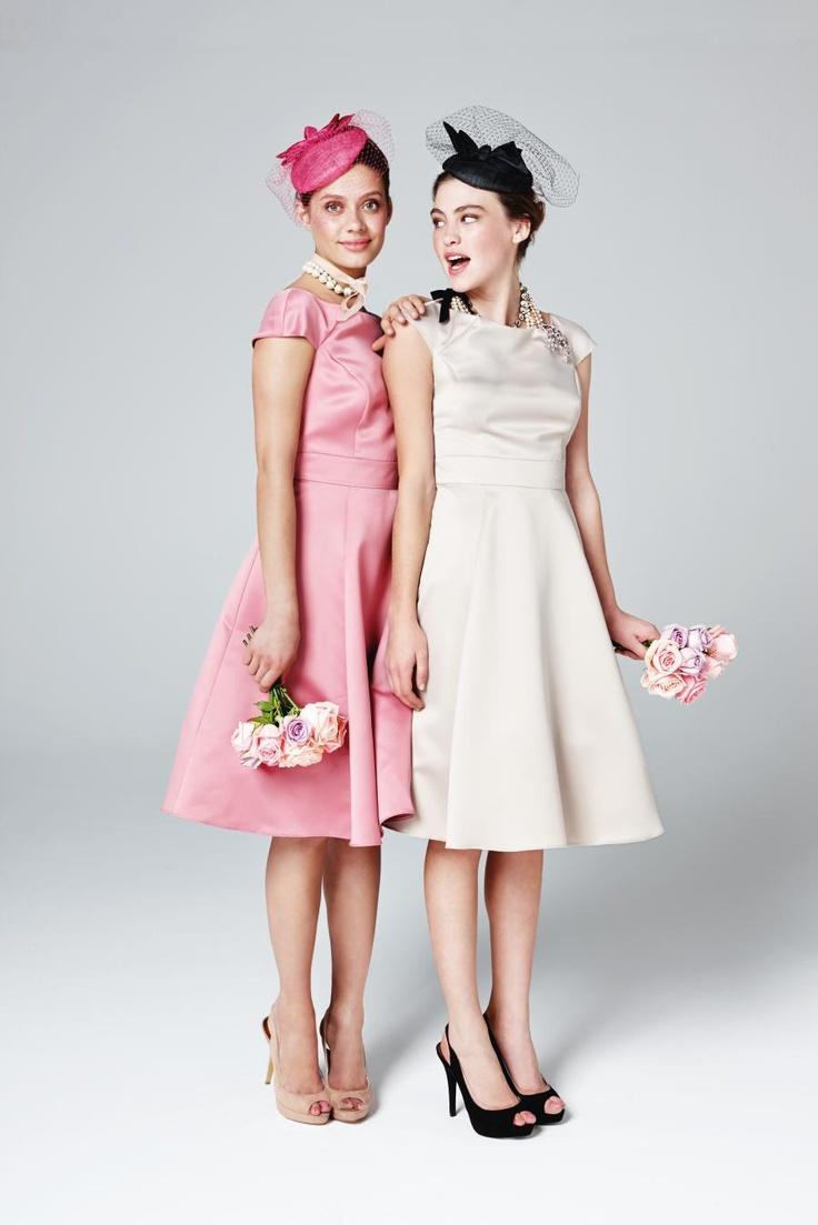 vintage style bridesmaids style