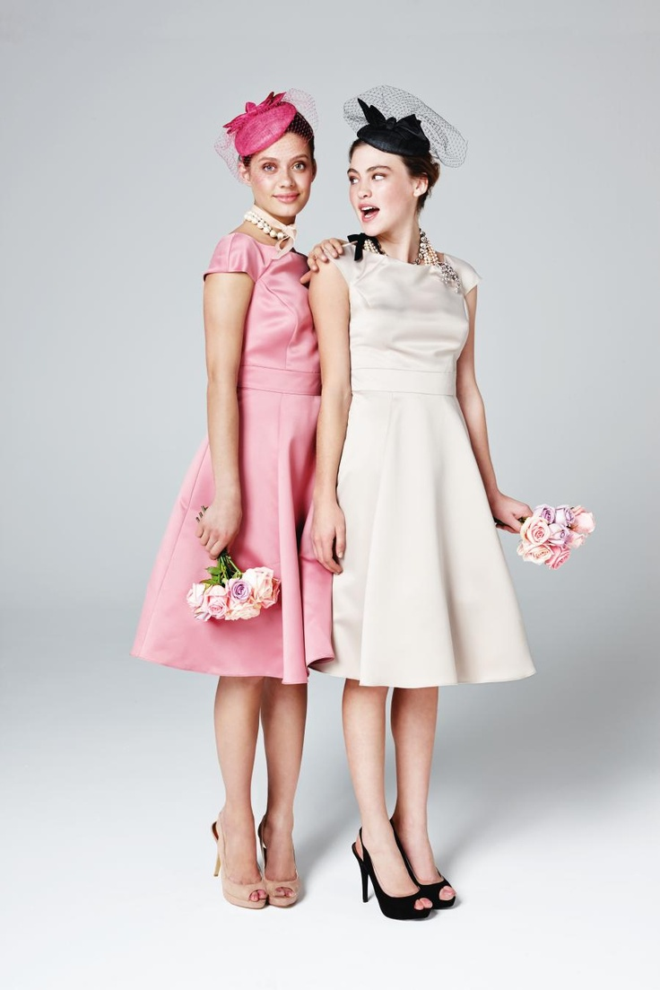Vintage style bridesmaids style bridesmaids dresses for Vintage wedding guest dresses