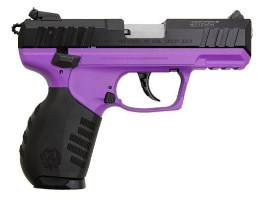 Ruger SR22 22LR Lady Purple
