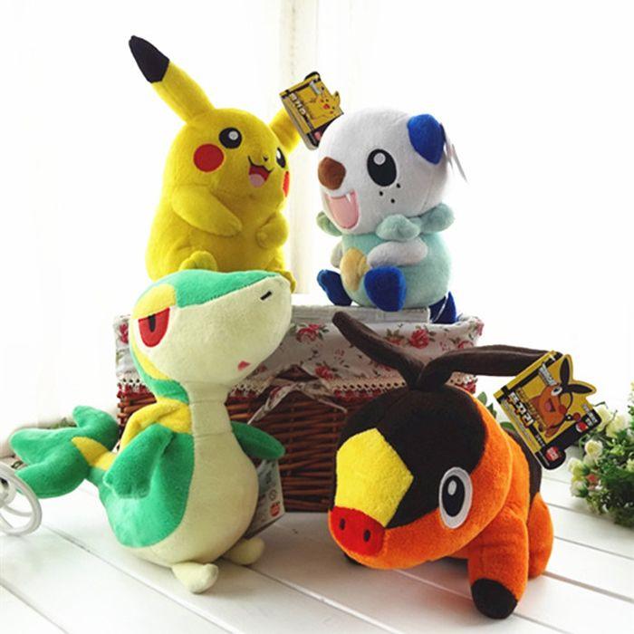Pokemon Plush Toy Pikachu Oshawott Snivy Tepig 1pcs 30cm //Price: $18.00 & FREE Shipping //     #follow