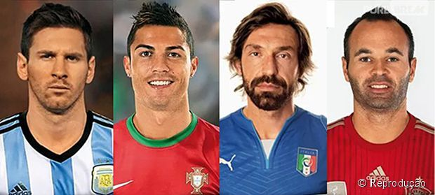PEDRO HITOMI OSERA: Veja o antes e depois dos 9 jogadores mais famosos...