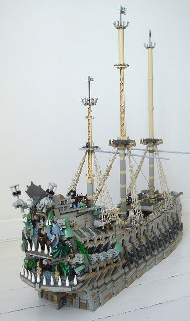 Lego Flying Dutchman  from The Pirates of The Carribbean
