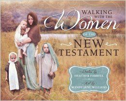 The pre-order link is up!! 300 pages and around 60 pictures!  Coming in November 2014! Walking With the Women in the New Testament: Heather Farrell: 9781462114214: Amazon.com: Books