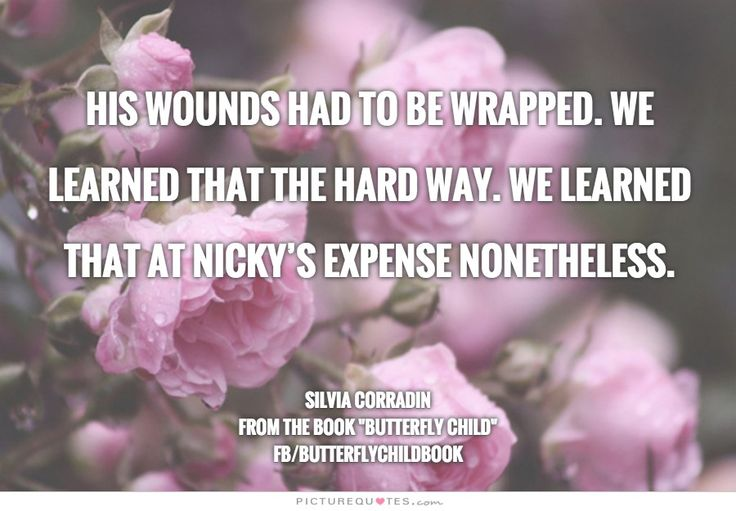 His wounds had to be wrapped. We learned that the hard way. We learned that at Nicky's expense nonetheless. #ButterflyChild http://www.butterflychildamothersjourney.com   #EBawareness #ebaware #stopEB #EpidermolysisBullosa