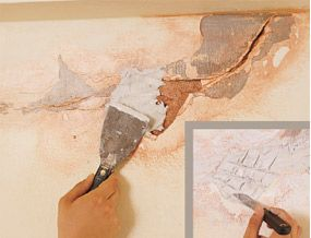 How to repair damaged plaster  Step-by-step DIY guide on repairing plaster cracks and holes in your walls or ceiling.