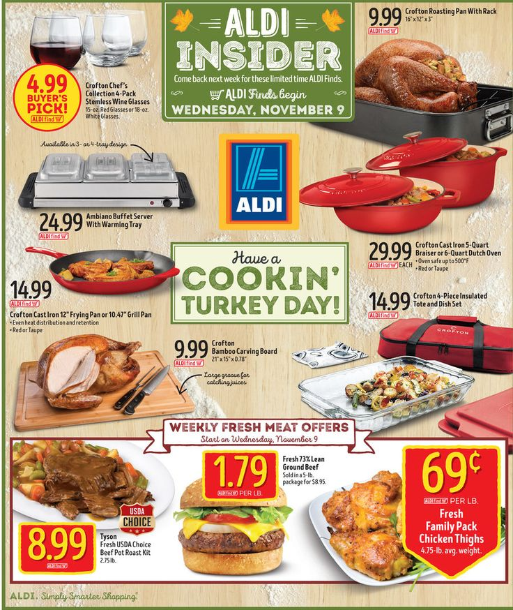 Aldi In Store Ad November 9, 2016 - http://www.olcatalog.com/grocery/aldi-weekly-ad.html